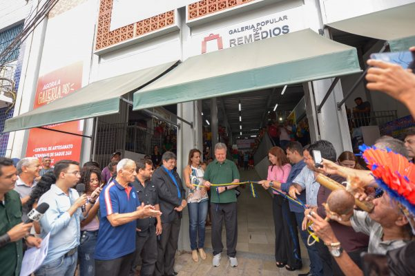 Centro histórico ganha maior centro de compras populares com ampliação da Galeria dos Remédios
